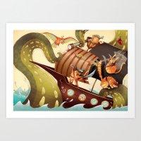 MEOWRRRRRRH!!! Art Print