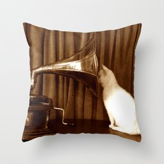 Her Mistresses Voice Throw Pillow