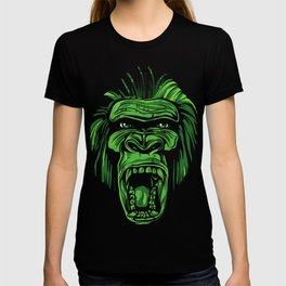 GORILLA KING KONG - Green T-shirt