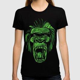 GORILLA KING KONG - Green T-shirt