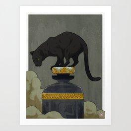 Mahogany Teakwood (no text) Art Print