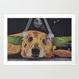 yodog Art Print