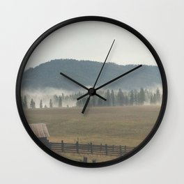 Eastern Washington Wall Clock