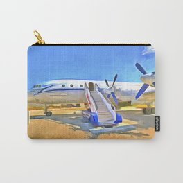 Pop Art Airliner Carry-All Pouch