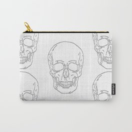 Skull and Crosses Carry-All Pouch
