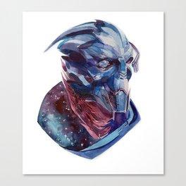 Space Archangel Canvas Print