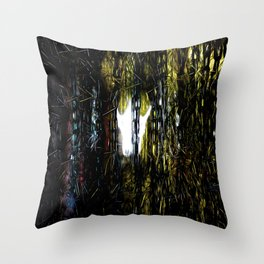 I Can See Ghosts Throw Pillow