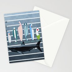 Shark Week - A balanced diet is essential  Stationery Cards