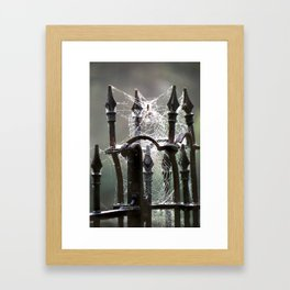 """""""Tangled Webs"""" jjhelene design Framed Art Print"""