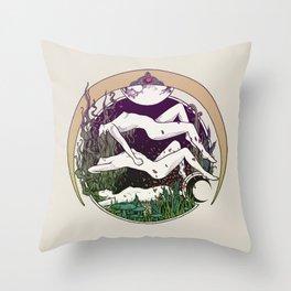 MOONGALBA Throw Pillow