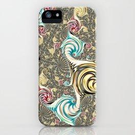 Incandescent Fractal iPhone Case