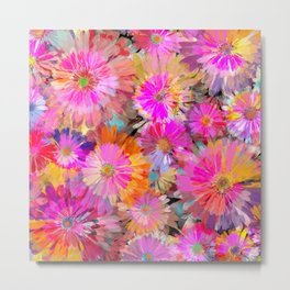 Flower carpet(49) Metal Print