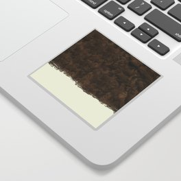 Dipped Wood - Walnut Burl Sticker