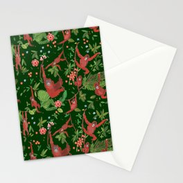 Orangutans in the Jungle Stationery Cards