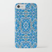 mosaic iPhone & iPod Cases featuring mosaic by PureVintageLove