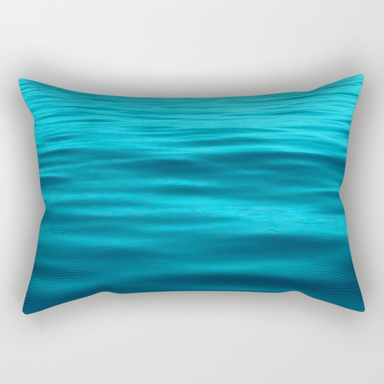 Water : Teal Tranquility Rectangular Pillow