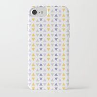 southwest iPhone & iPod Cases featuring Southwest Triangles by Kara Peters