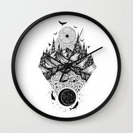 Sun vs Moon Wall Clock
