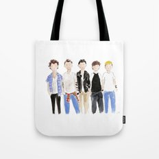 One Direction Watercolor Tote Bag