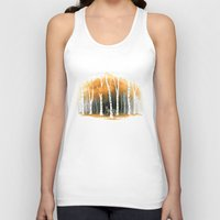 freeminds Tank Tops featuring Autumn Wolf by Freeminds