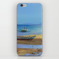 philippines iPhone & iPod Skins featuring Philippines beach by Maria Zborovska