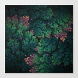 Cosmic Flora Canvas Print