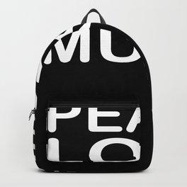 Peace Love Reggae Backpack