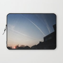 Vapour Trails, South Hayling. Laptop Sleeve