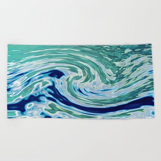 OCEAN ABSTRACT 2 Beach Towel