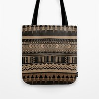 woodland Tote Bags featuring  WOODLAND by Vasare Nar