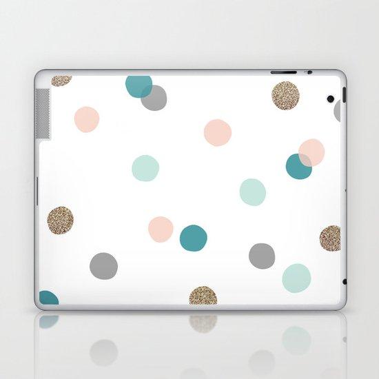 Confetti Dots Laptop & iPad Skin