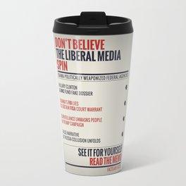 Read The Memo Travel Mug