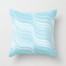 Currents Throw Pillow