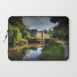 Cardiff castle and Bute Park Laptop Sleeve