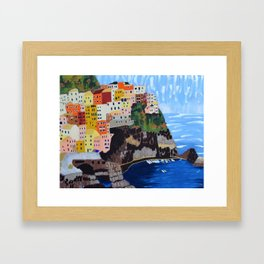 Shine - Cinque Terre, Italy Framed Art Print
