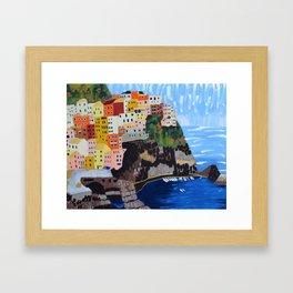 Shine - Cinque Terre, Italy Framed Art Print