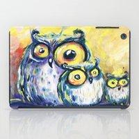 family iPad Cases featuring family by Katja Main