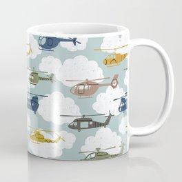 Kids Room Helicopters Coffee Mug