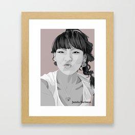 Illustrator picture Framed Art Print