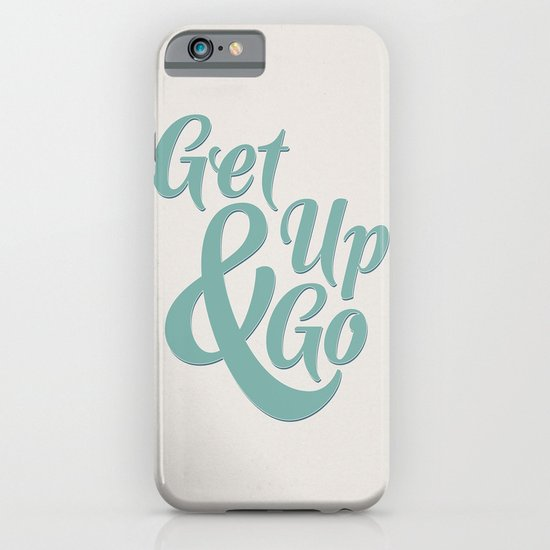 Get Up & Go iPhone & iPod Case