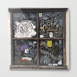 Fishtown Graffiti Street Metal Print