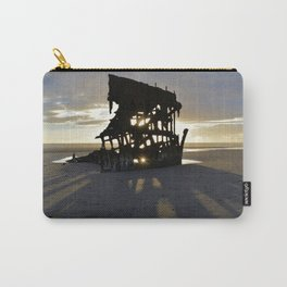 Wreck of the Peter Iredale at sunset Carry-All Pouch