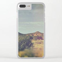 Magic Mountain II Clear iPhone Case
