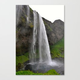 Seljalandsfoss Waterfall Canvas Print