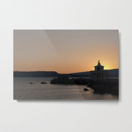 Kefalonia Lighthouse Lassi Greece Metal Print