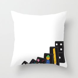 Threadless Live at Marwen: Student winner Isabel Trumbull Throw Pillow