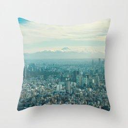 Tokyo 72 Throw Pillow