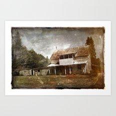 Maison numero huit-cent soixante-six Art Print