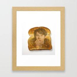 Miracle on Toast Framed Art Print