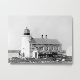 Prospect Harbor Point Lighthouse  Metal Print
